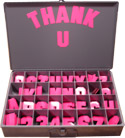 400 Hot pink magnet kit